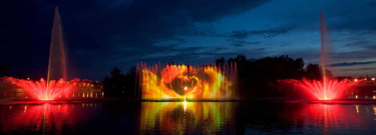 Винницкие фонтаны. Экскурсия-праздник в страну музыки, воды и света